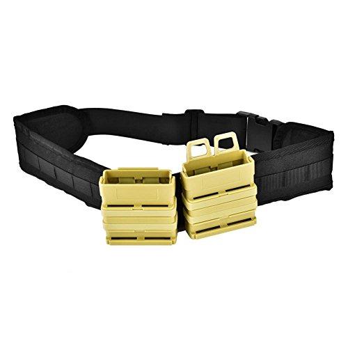 Tbest magazijnriem, magazijnriem, verstelbare clip-magazijn-etui, houder Quick Pull Box riem tactische riem voor Nerf Tactical Accessoires