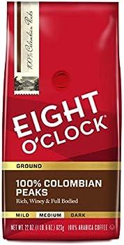 Eight O'Clock 22 Oz Ground Coffee 100% Colombian Peaks