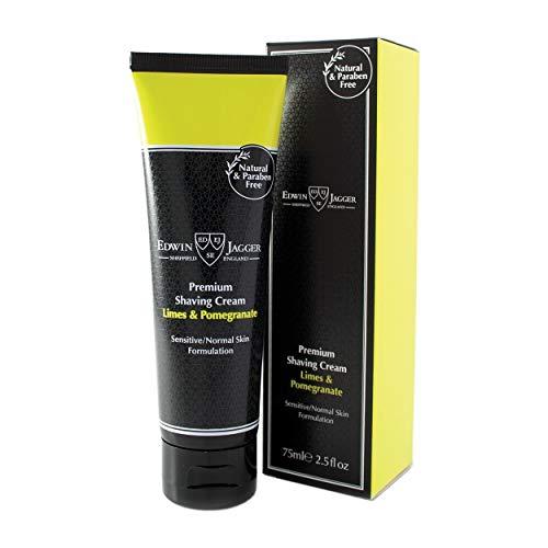 Edwin Jagger Lime Pomegranate Premium Shaving Cream 2.5oz shave cream by Edwin Jagger