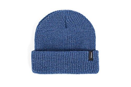 Brixton Beanie Heist, Unisex Mütze, Einheitsgröße, Blau (denim)