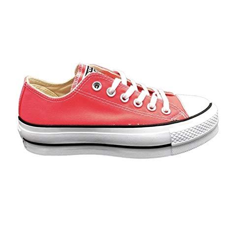 Converse All Stars Platform 565501C roze/wit-36.5