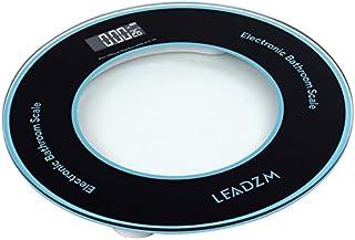 TWOC-QPD Báscula de peso corporal de Greater Goods, báscula digital de peso y grasa corporal de 180 kg/50 g, modelo de disco compacto