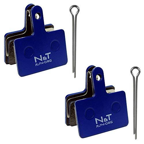Noah And Theo 2 pastillas de freno de disco de resina NT-BP004/RS...