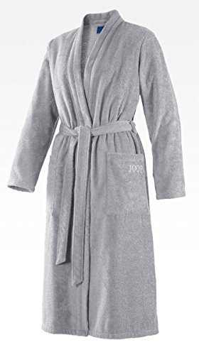 Joop! Bademantel Damen Kimono 1616 Classic Silber - 76 XS