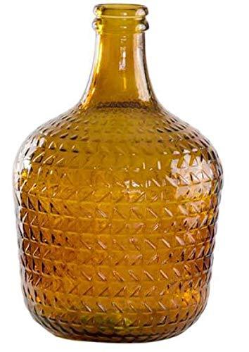 Garrafa Relieve 12L Vidrio Reciclado (Topaz)