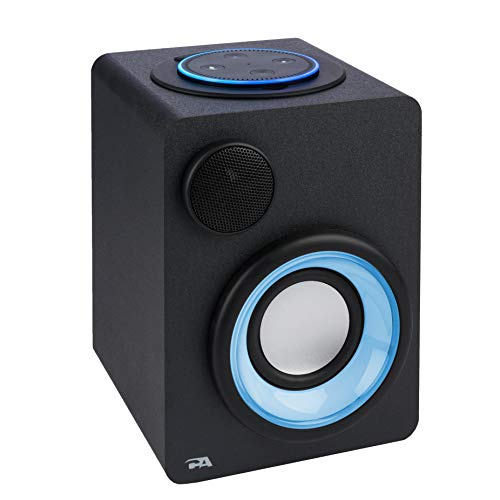 Cyber Acoustics Portable Alexa Docking Speaker for Amazon Echo Dot 2nd Gen. with Built-in Rechargeable Battery