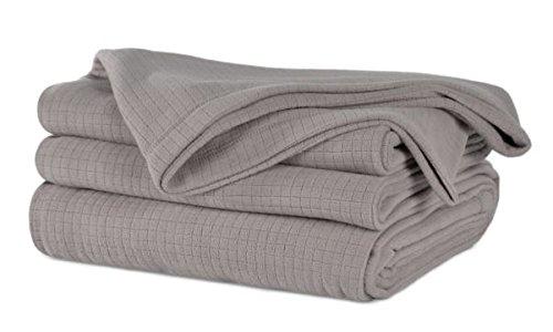 Berkshire Polartec Softec Decke, Doppelbett, Grau