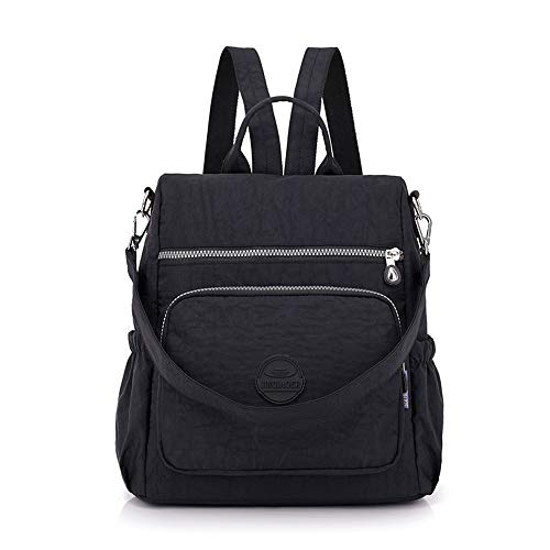 WEILLCCE Women's Bags Women's Backpack Waterproof Nylon Backpack Double Shoulder Bag Double Shoulder Bags for Women crowd