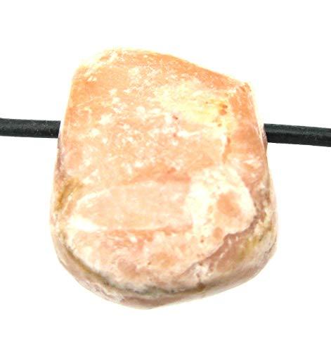 Amaryllis Trommelstein gebohrt Baryt 2,5-3 cm