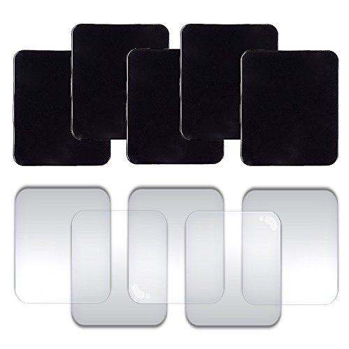 Universal Gel Anti-Rutsch-Pad, Optimal für Auto-Armaturenbrett Ablage & Handy, IHUIXINHE 10er Sticky Anti-Rutsch Gel Pads - Kann an Glas, Spiegel, Whiteboards, Metall,