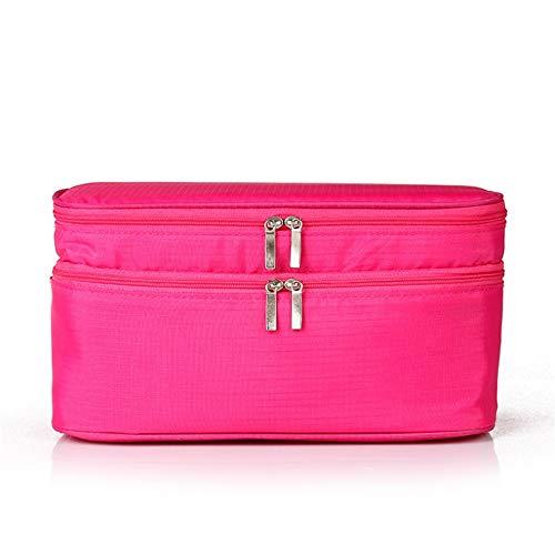 Belleashy Trousses de Toilette Sac de Rangement for Le Soutien-Gorge de Voyage Sac for vêtements personnels imperméable Rose (Color : Pink)