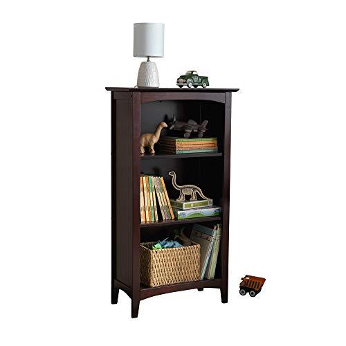 childrens bookcase espresso - 4