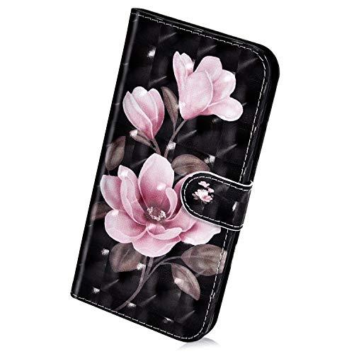 Herbests - Merceditas para mujer Rose Blumen Samsung Galaxy A10