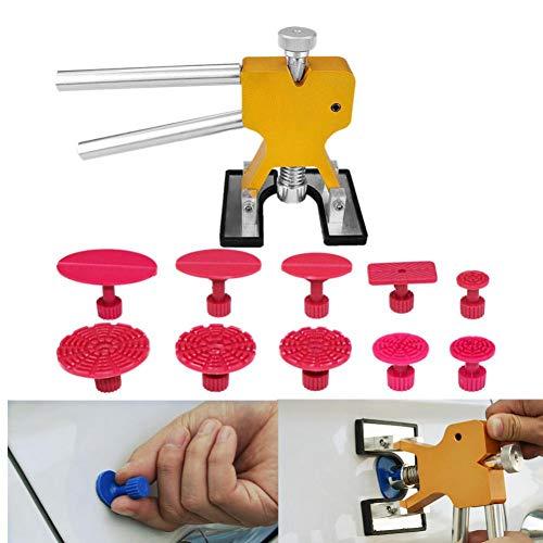 XNBCD PDR-gereedschapskist, lakvrij, deukreparatieset, trekker, tegenhamer, zuignapverwijderaar, lift, hagelschade, hefinrichting