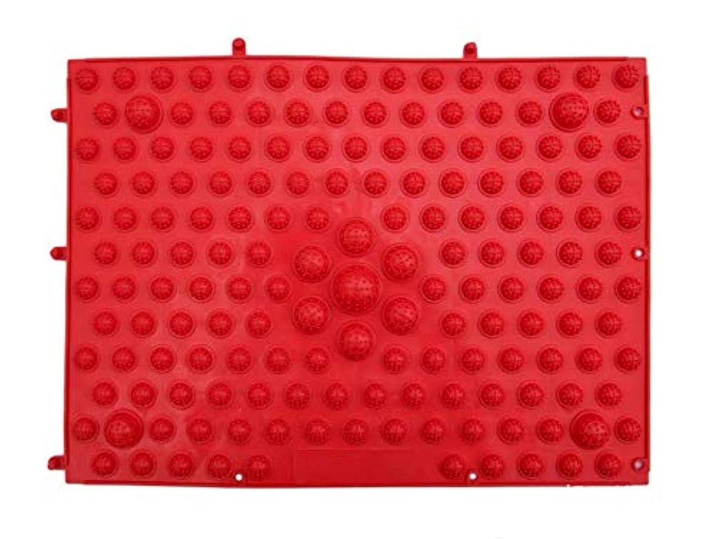暗黙近代化する中でBodyBooster フットマッサージャー 家庭用&職場用 贈り物 (赤い)