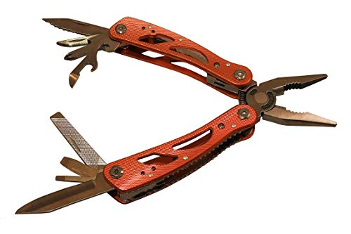 Multitool knife with sheath 15-in-1 Portable Pocket Multifunctional heavy duty, Folding Saw, Wire Cutter, Pliers, Sheath Multipurpose, Survival, Camping, Hunting, Car Set, tools, survival gear