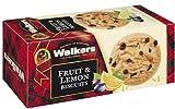 Galletas escocesas de fruta y limón Walkers | Mantequilla pura de mantequilla | 1 paquete de galletas de mantequilla de fruta de limón - 150 gramos