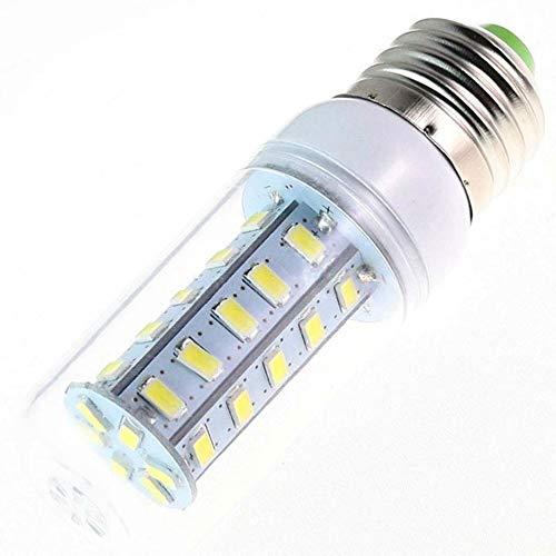 WELSUN E27 / e14 6w 600lm 36 x SMD 5730 LED Cool Lamp- Chaude/de la lumière Blanche de maïs (AC 220v) (Connector : E26/E27, Light Source Color : Blanc Froid)