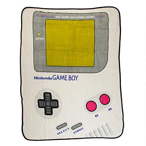 Cobija con diseño de Nintendo Game Boy