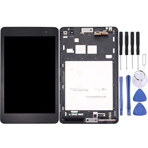 Mingxian Pantalla LCD y digitalizador Asamblea con Marco Completo for el Transformador de ASUS T90 Libro Chi (Negro) (Color : Black)