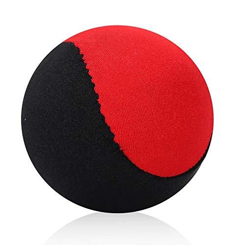 VGEBY1 Acqua Che rimbalza Palla, Pallone da Surf Acqua Palla Giocattolo per Piscina all'aperto Oceano Spiaggia (Nero + Rosso)