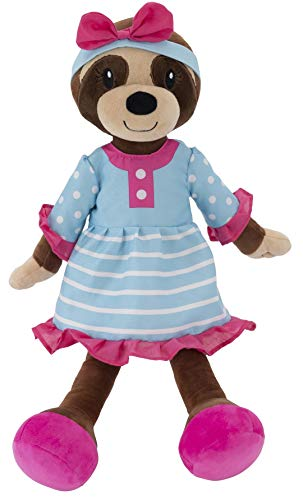 """PLUSHIBLE BRIDGING MILES WITH SMILES Sharewood Forest Friends - Plush Stuffed Animal for Girls and Boys - 18"""" Rag Doll (Sofie The Sloth)"""