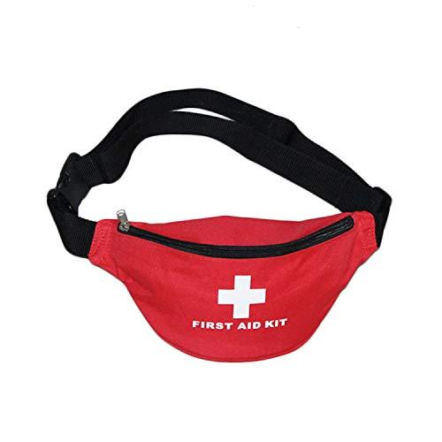 AIURBAG Erste Hilfe Tasche,Mini Notfalltasche medizinische Überlebenstasche Bauchtasche für Zuhause,Picknick,Camping,Reisen und andere Outdoor-Aktivitäten