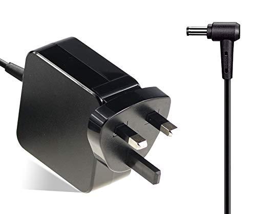 45W 19V 2.37A Laptop Charger for Asus E203M X553M X540S X541U L402S Zenbook UX305 UX303u UX330C UX360CA S200 S200E Q200 Q200E Q302L; Connector 4.0 * 1.35mm AC Adapter Power Supply