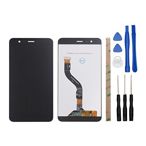 Ocolor Huawei P10 Lite Pantalla LCD + Conjunto de digitalizador táctil de Repuesto de Pantalla Rota (Negro)