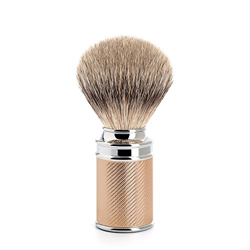 MÜHLE TRADITIONAL Rosegold Silvertip Badger Shaving Brush