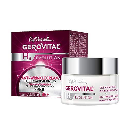 Gerovital H3 Evolution Anti-Falten Intensive Feuchtigkeitscreme 45+ Inhalt 50ml N4990