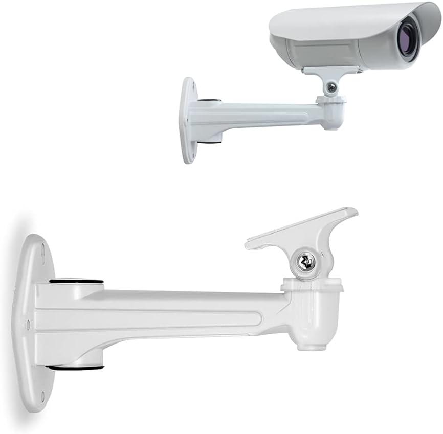 Mini Projector Wall Mount, CCTV Security Camera Mount Bracket, Aluminum Alloy Indoor Outdoor CCTV Wall Ceiling Mount Holder Length 6.7