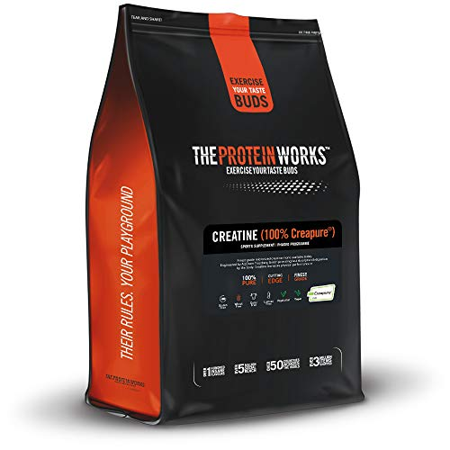 The Protein Works Pure Creatine (Creapure), Unflavoured, 50 Servings, 250 g