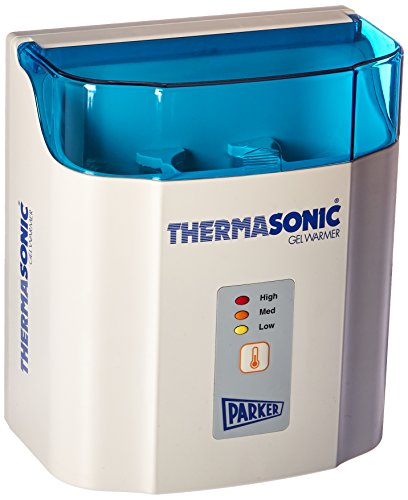 Parker Labs 82-03 Thermasonic Ultrasound Gel Warmer, LED High Med Low Display, 3-Bottle, 120V (Each)