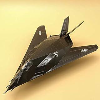 tytlmask Modelo De Avión 1:72 Modelo De Avión A Escala F117 Night Hawk