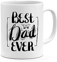 Ceramic Best Dad Ever Coffee Mug White