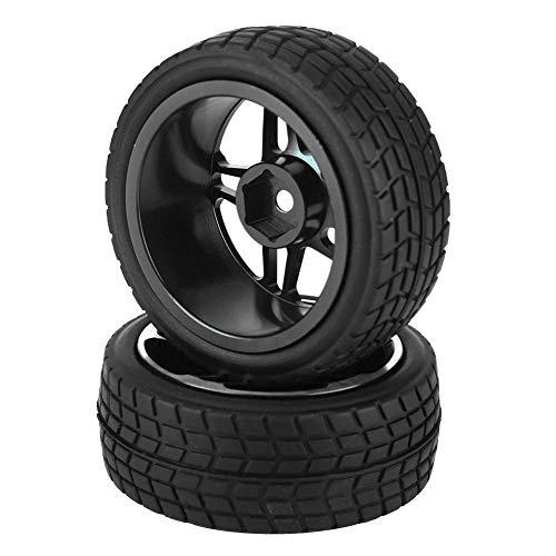 2 stuks RC Truck rubberen banden wiel banden voor ZD Racing voor 1/10 on-road-auto