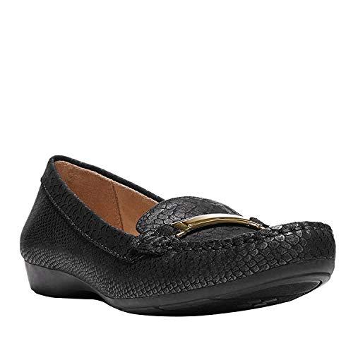 Price comparison product image Naturalizer Women's Gadget Slip-On Loafer, Black, 9 M US