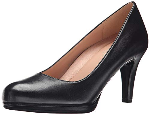 Naturalizer Women's Michelle Pump, Black, 9 Narrow