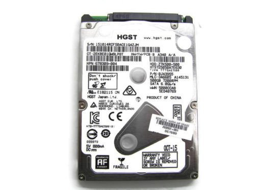 HP 500GB 7200RPM Hitachi HGST SATA Hard Drive (HDD) 703268-001
