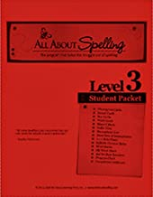 All About Spelling Level 3 Student Materials Packet