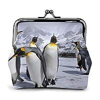 ペンギン 財布 小銭入れ ミニ オシャレ 薄型 便利 コインケース