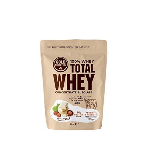 Gold Nutrition Suero De Leche Total 260gr Chocolate Blanco&avellanas