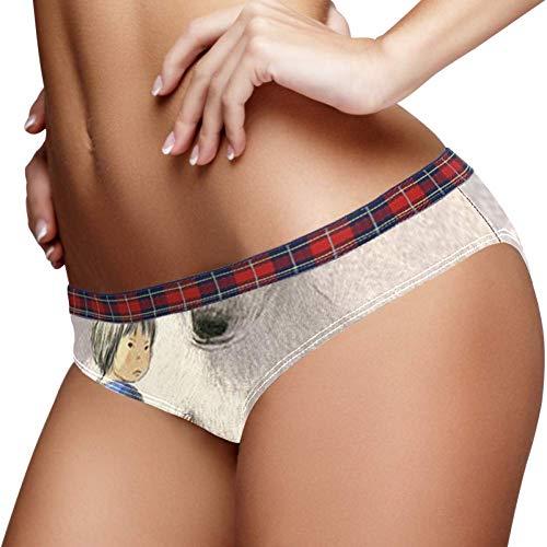 TIZORAX Polar Beer Holding Meisje Vrouwen Ondergoed Bikini Mode Dames Korte Panties