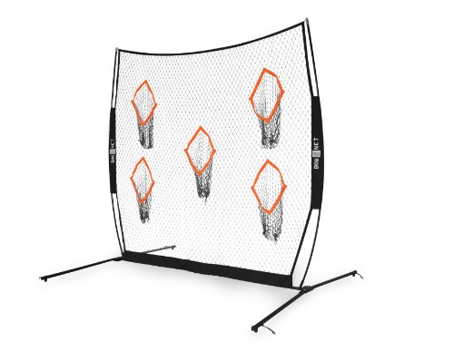 Bownet 8' x 8' QB5 Portable Quarterback Passing/Throwing Practice Net