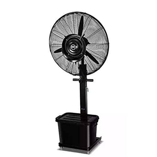 yanzz Ventiladores Ventilador de Servicio Pesado Potente Ventilador Industrial de Alta Velocidad Enfriamiento Energía eficiente/nebulización Ventilador de Pedestal oscilante Silencioso, 42L/3
