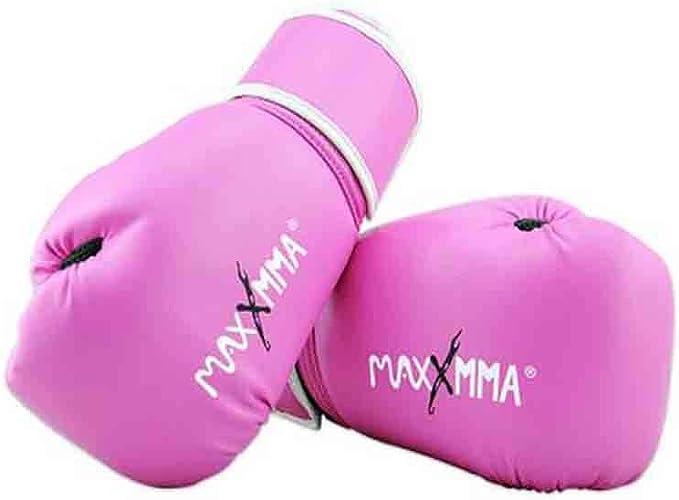 Kaiyitong01 Gants de Boxe, Arts Martiaux pour Hommes et Femmes, Combat Taekwondo Muay Thai Formation Sandsacs Gants, Adulte, Enfants Sanda Haute qualité