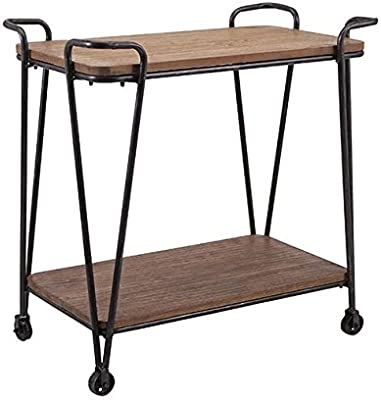 Imax 88709 Austin Wood and Iron Table