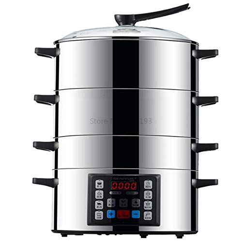 Steaming Cage 304 Stainless Steel with Large Capacity and Fast Cooking in Household Multifunctional Electric Steamer