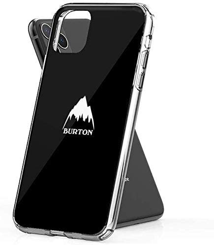 Burton Snowboards iPhone Case Pure Clear Anti-Scratch Shock Absorption Phone Cases for iPhone X/XS